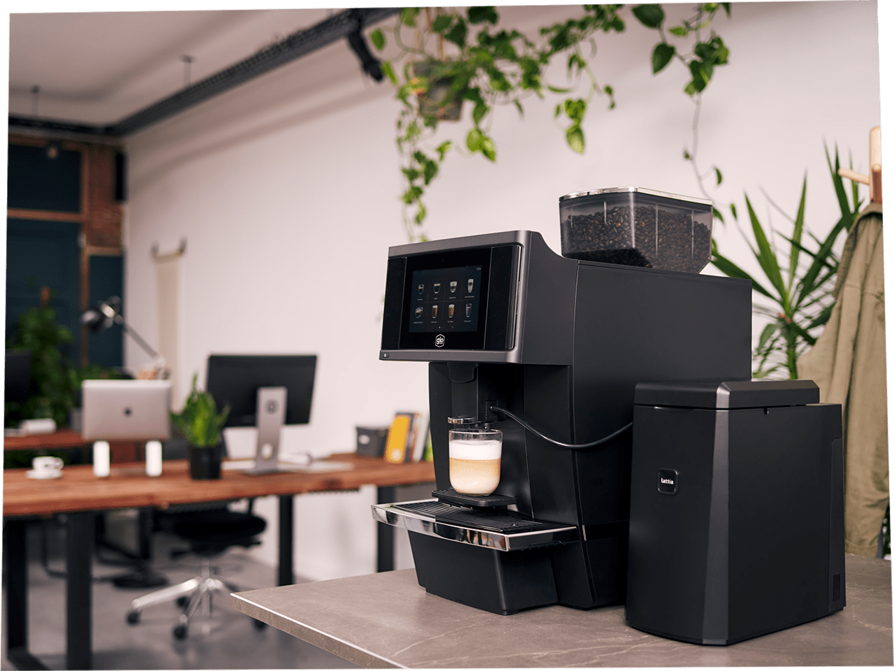 Gio Coffee Baristi 100 koffiebonenmachine voor op kantoor