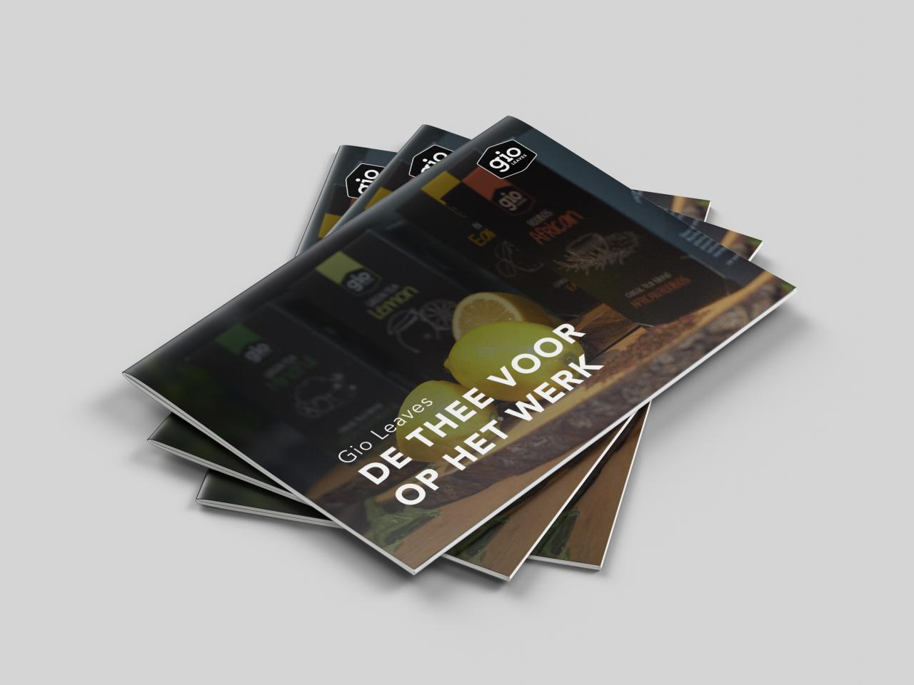 Brochure: Gio Leaves - Thee Voor Op Het Werk