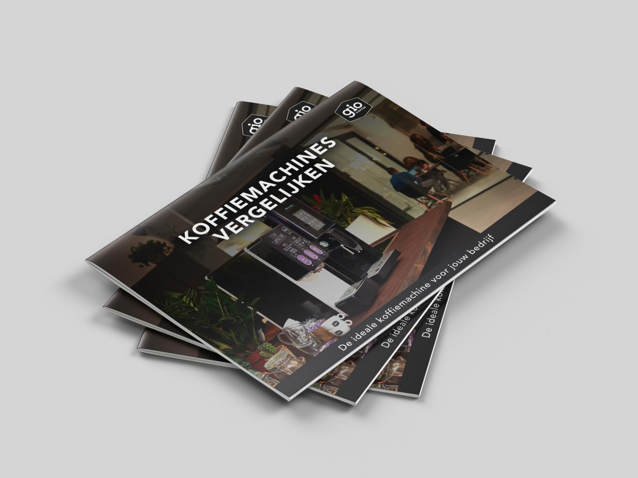 Brochure Gio Coffee Vergelijkingsbrochure