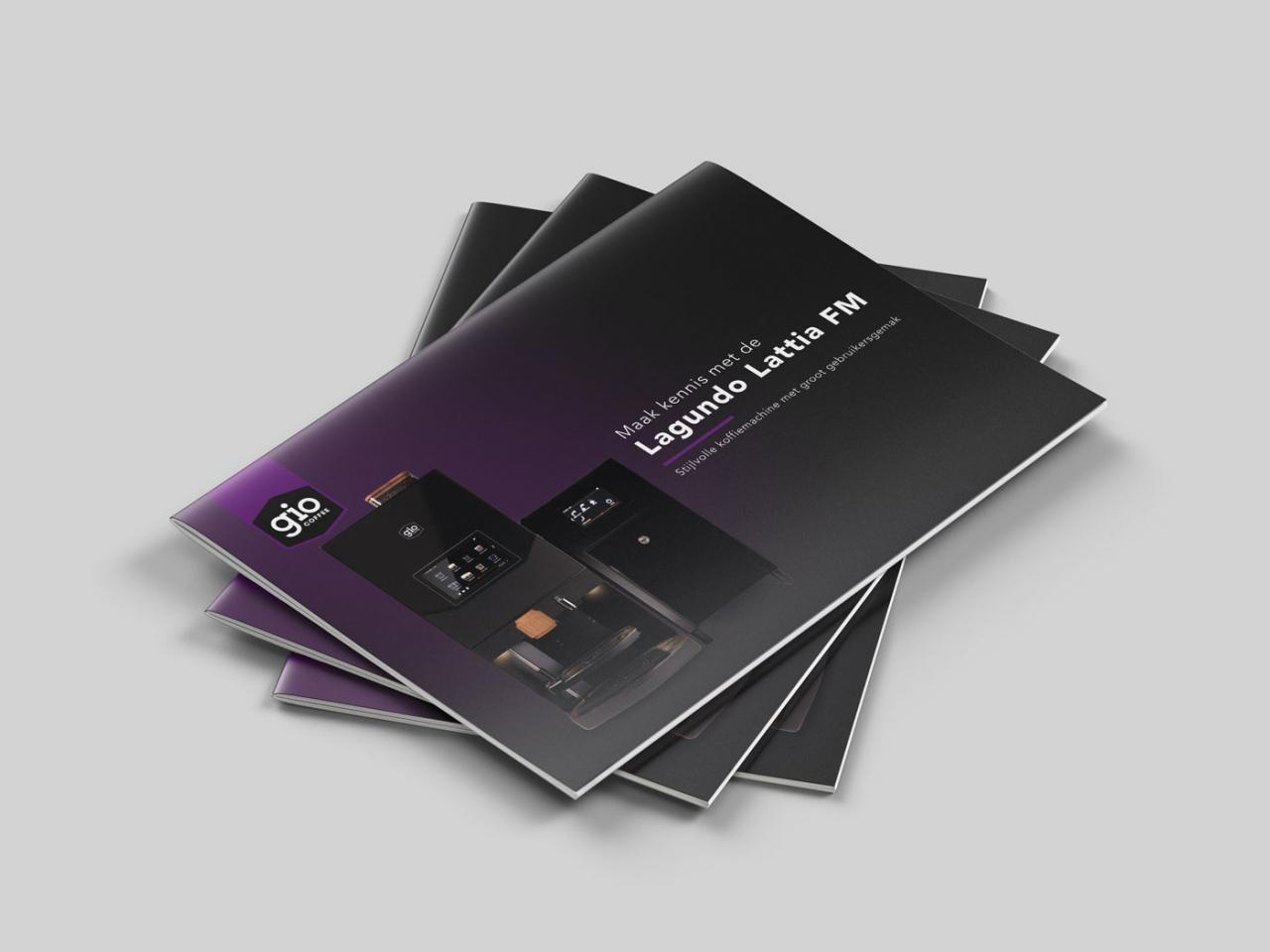 Gio Coffee brochure Lagundo Lattia FM