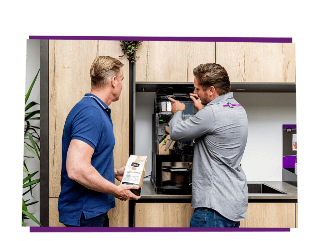 De beste service voor een zakelijke koffiemachine van Gio Coffee