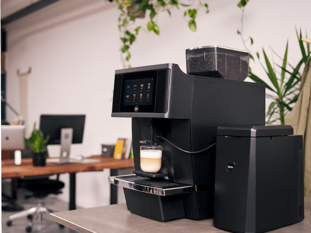 Gio Coffee Baristi 100 Professionele Koffiebonenmachine voor op kantoor