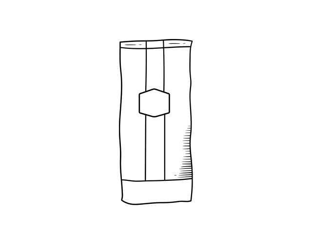 Zak koffiebonen - Icoon