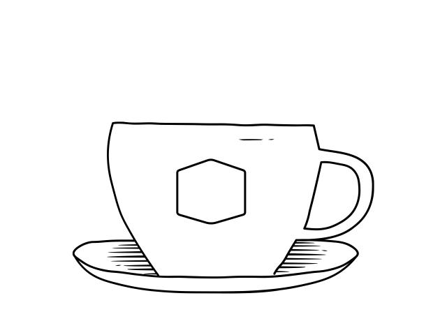Koffiekop - icoon