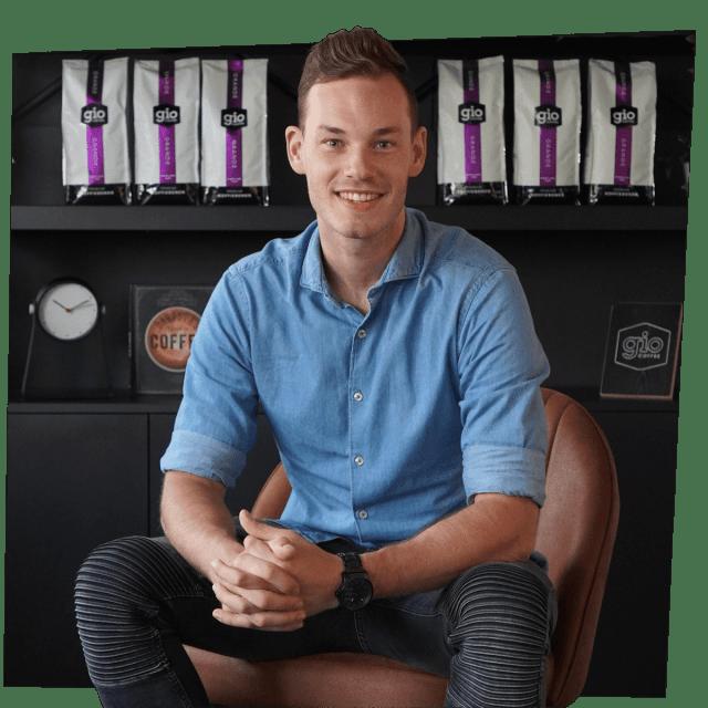 Tim Heijedeman Gio Coffee Limburg koffiespecialist