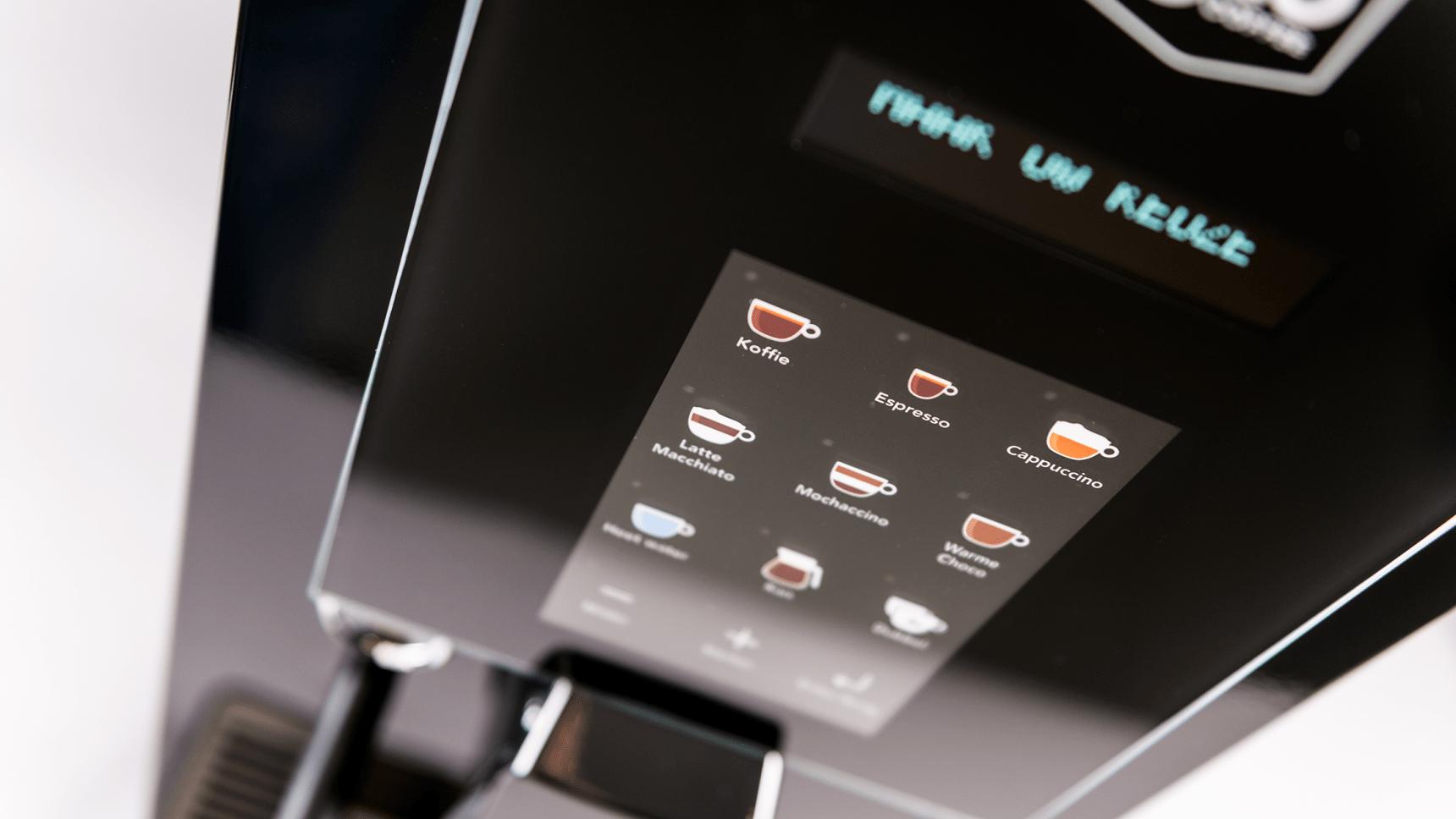 Gio Coffee - Lucca - Koffiebonenmachine -Zakelijk gebruik - Detail 2