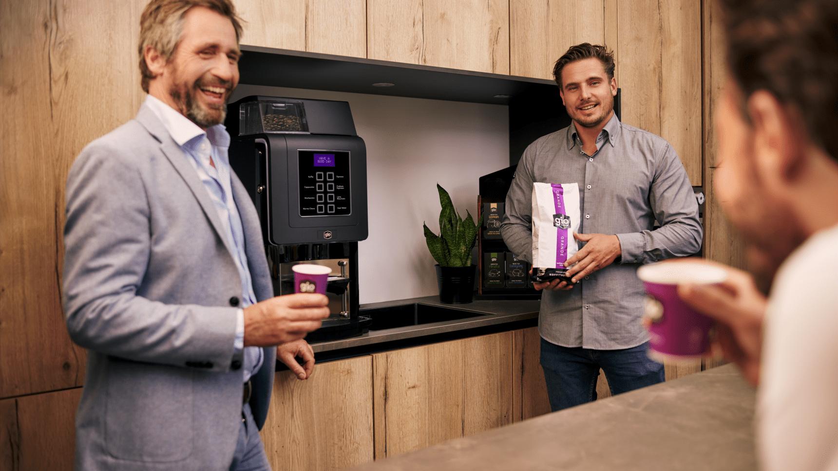 Gio Coffee - Proefplaatsing zakelijke koffiemachine - Vrijblijvend koffie proeven
