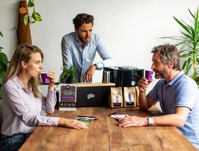 Gio Coffee - Koffieproeverij op het werk