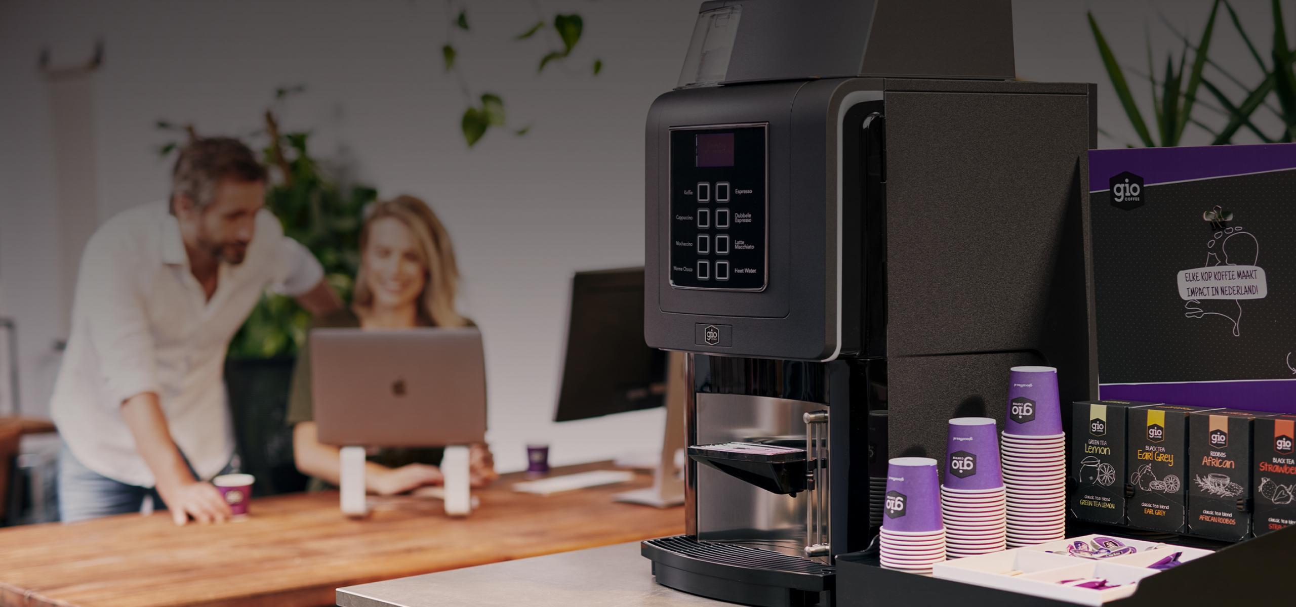 Gio Coffee koffiezetapparaat voor bedrijven