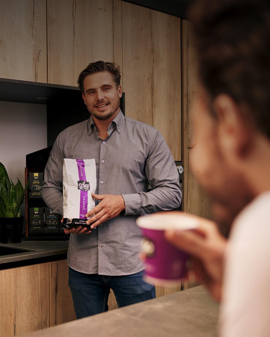 Gio Coffee is dé koffieleverancier voor bedrijven