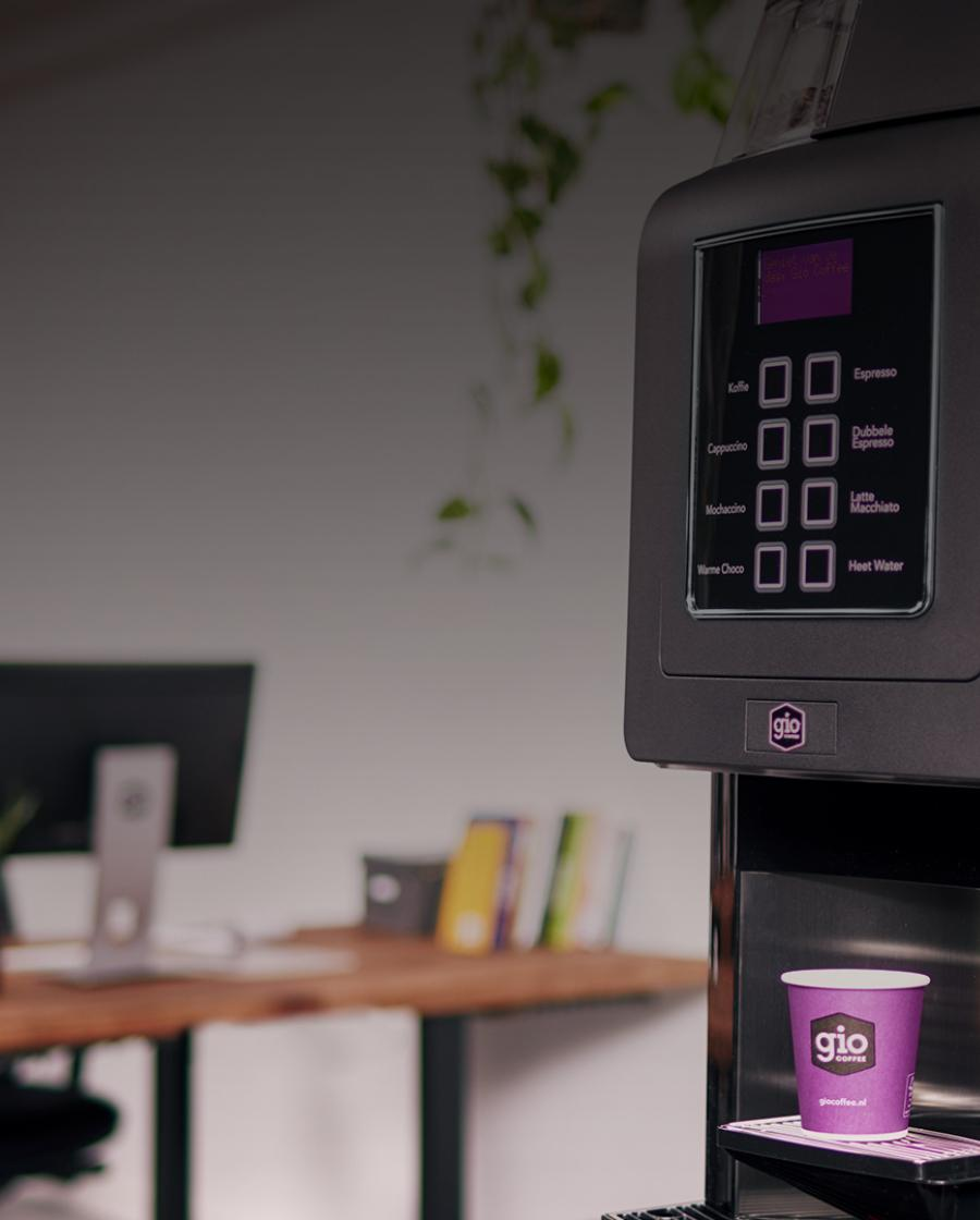 Gio Coffee Palermo Pro koffiemachine voor zakelijk gebruik