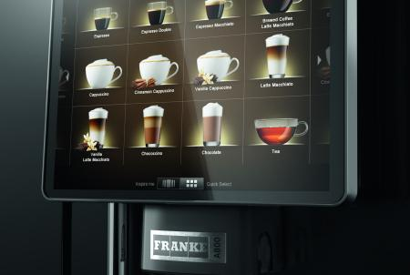 Gio Coffee - Franke A800 - Koffiebonenmachine - Zakelijk gebruik - Verse Melk - Detail 3
