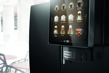 Gio Coffee - Franke A800 - Koffiebonenmachine - Zakelijk gebruik - Verse Melk - Detail 4