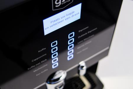 Gio Coffee - Instant koffiemachine - Trento Compact - Detail 2