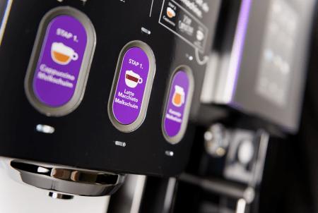 Gio Coffee - Lucca Lattiz - Koffiebonenmachine - Verse melk - Detail 2