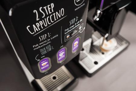 Gio Coffee - Lucca Lattiz - Koffiebonenmachine - Verse melk - Detail 3