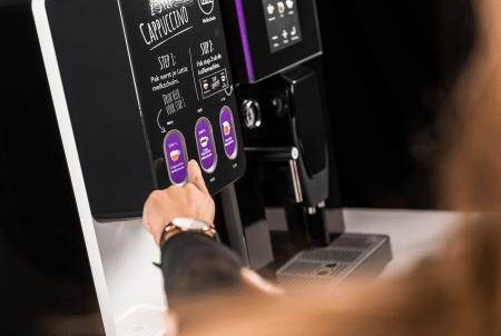 Gio Coffee - Lucca Lattiz - Koffiebonenmachine - Verse melk - Detail 6