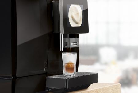 Gio-Coffee-Franke-A600-koffiebonenmachine-foammaster-cappuccino-melk-melkschuim-professioneel-zwart