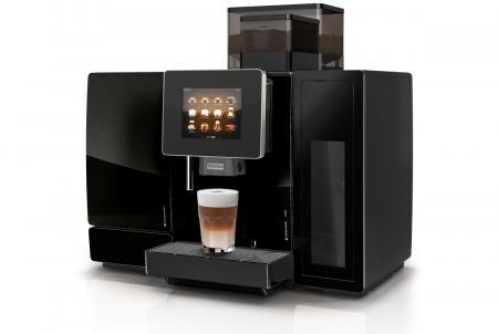 Gio-Coffee-Franke-A600-koffiebonenmachine-foammaster-cleanmaster-professioneel-zwart