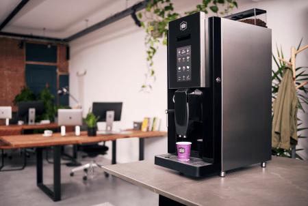 Professionele koffiebonenmachine voor op kantoor. De Lucca - Gio Coffee