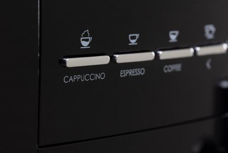 Baristi 25 koffiemachine detail knoppen