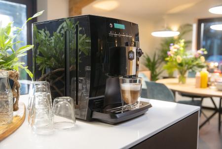 Baristi 25 koffiemachine met cappuccino verse melk koop koffiemachine