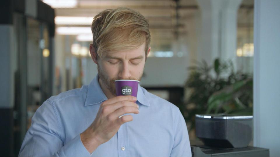 Gio Coffee still video kantoor