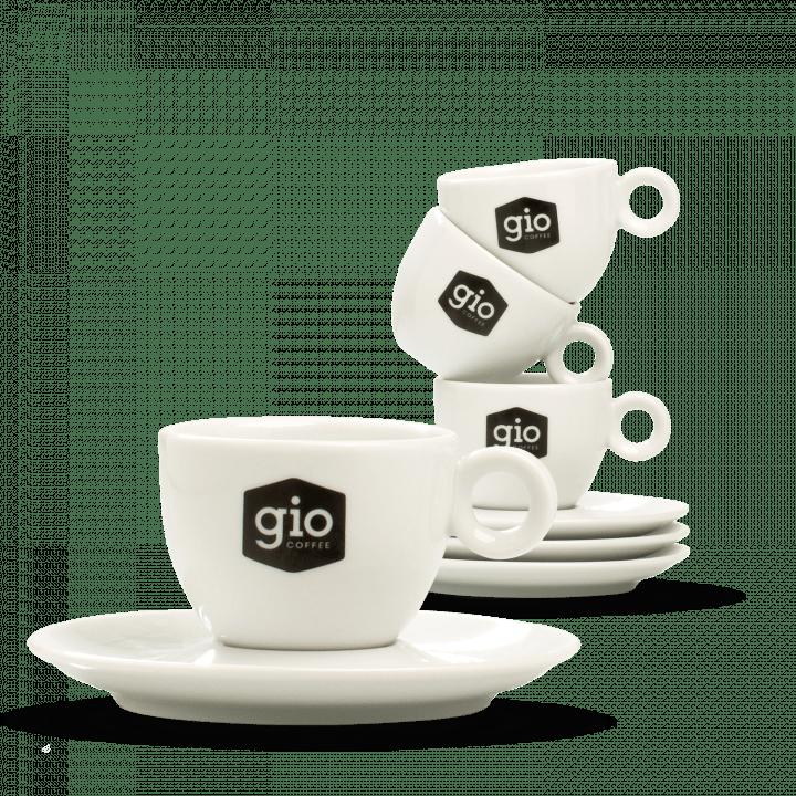 Gio Coffee kopjes porselein Overzichtspagina