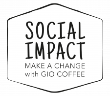 Social Impact logo Gio Coffee