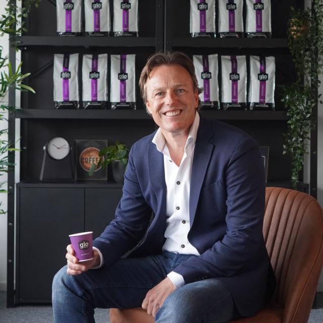 Benno Kuijf oprichter Gio Coffee