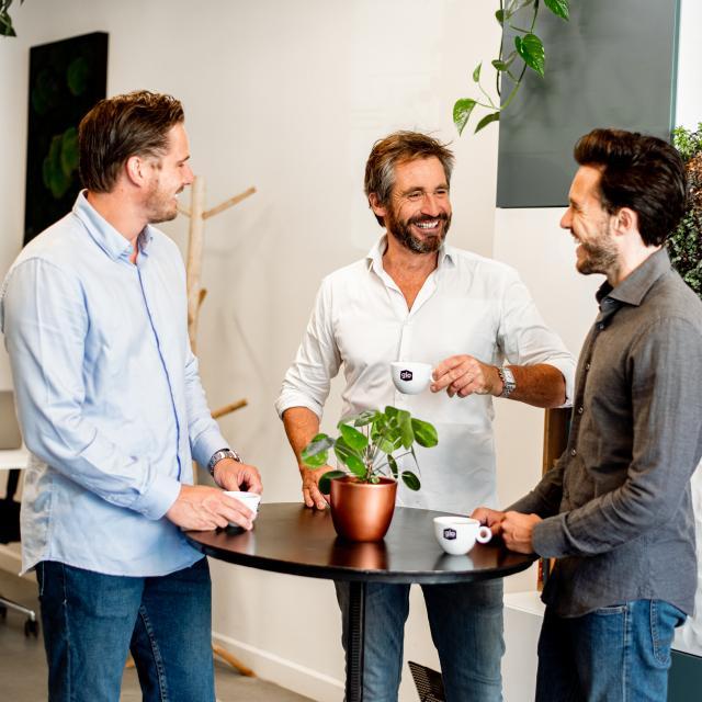 Gio Coffee - Energie op het werk - Zakelijk koffiedrinken