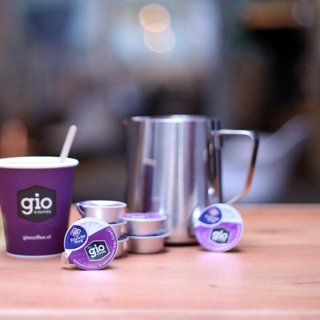 Gio Coffee Melkcupjes voor zakelijk gebruik