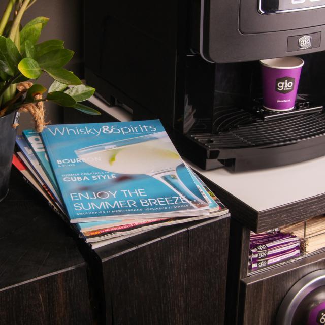 Gio Coffee Magazinepakket voor bij de koffie