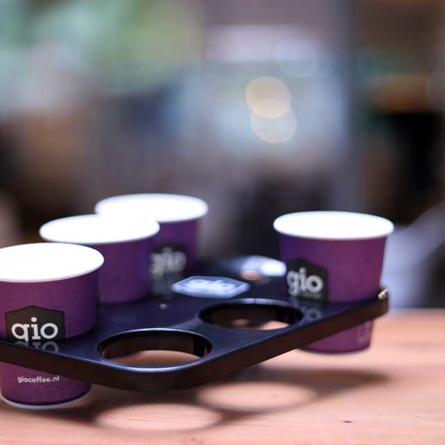 Gio Coffee Bekertray