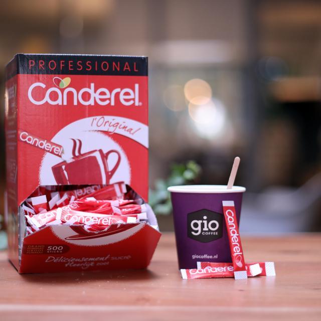 Candarel zoetstofsticks Gio Coffee Zakelijk
