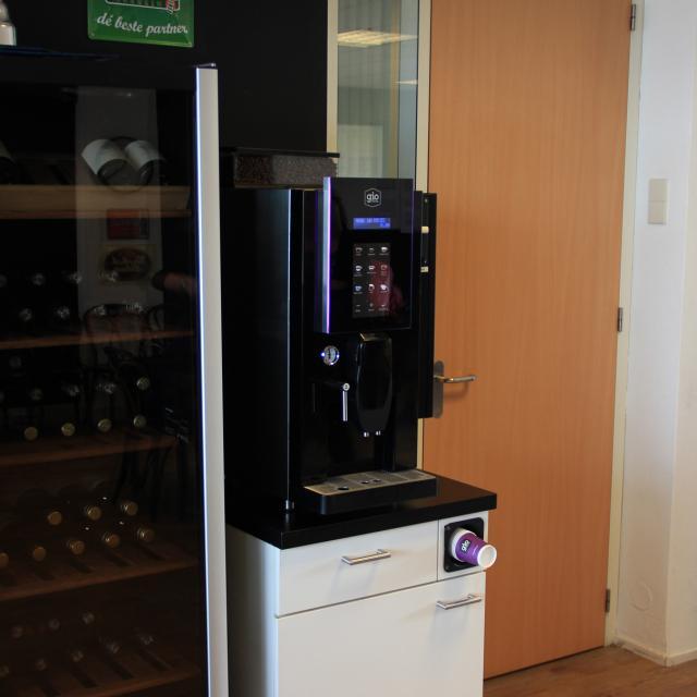 Gio Coffee klant Eurocollege Rotterdam koffiehoek
