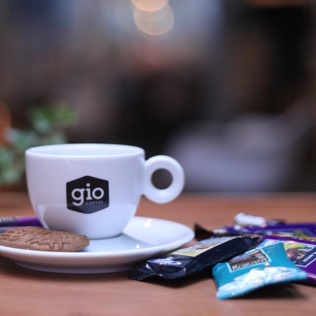 Gio Coffee kopjes porselein voor koffie en thee zakelijk