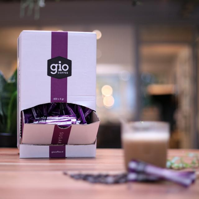 Gio Coffee suikers voor zakelijk gebruik