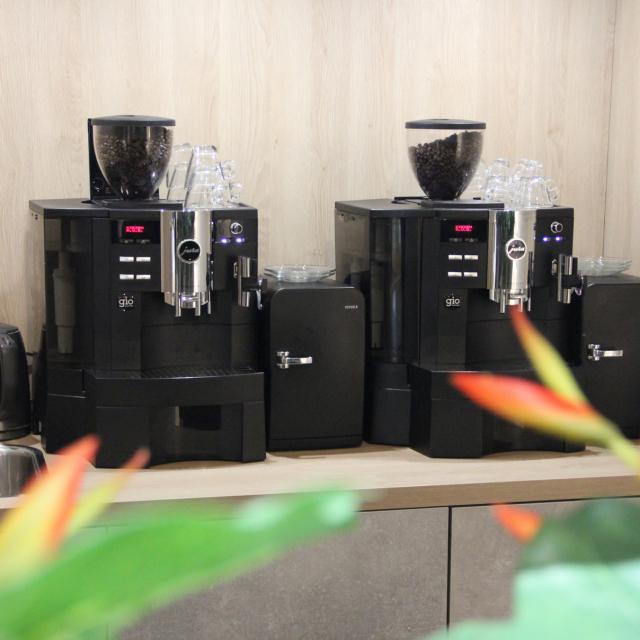 Koffiemachine voor bedrijven in retail van Gio Coffee