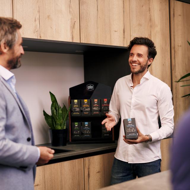 Ontdek de lekkerste Gio Leaves thee voor op bedrijven