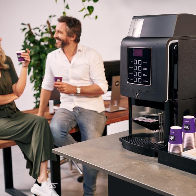 Gio Coffee koffie zorgt voor een goede werksfeer