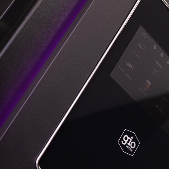 Gio Coffee - Magenta Touch -Detailshot