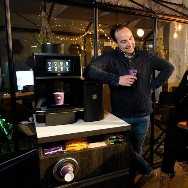 Gio Coffee Baristi 100 bij Green Leaves
