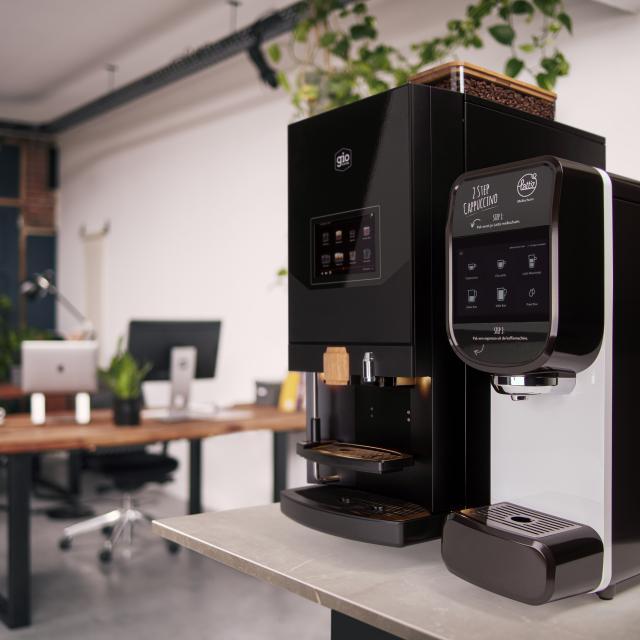 Lagundo Lattiz koffiebonenmachine van Gio Coffee